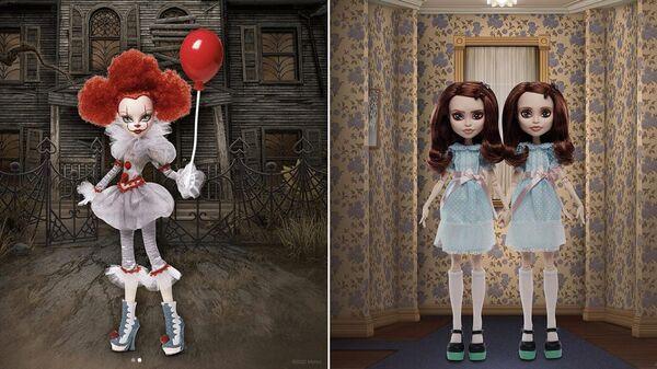 Новые куклы компании Mattel - Pennywise и Shining Twins