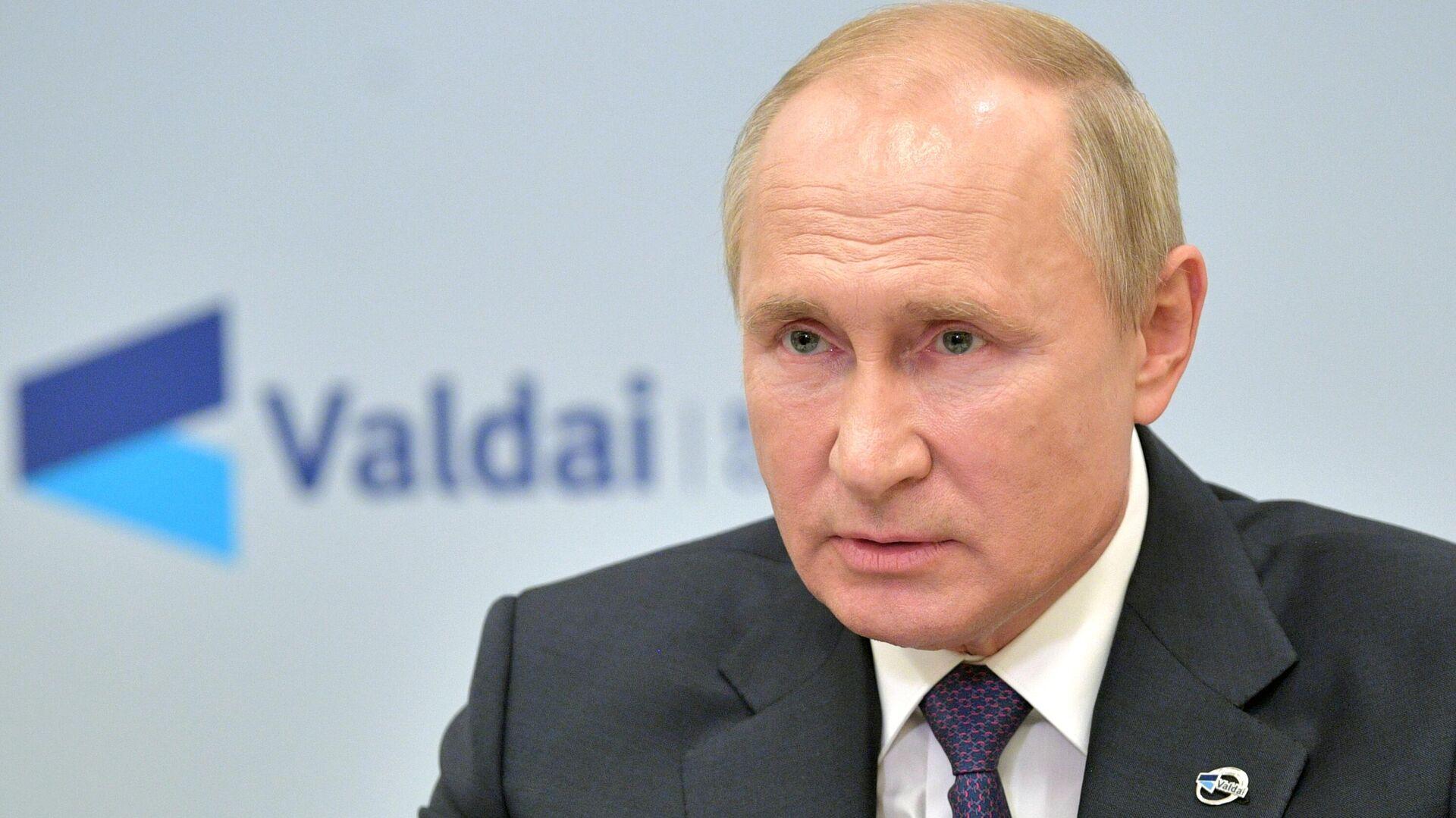 Путин: Давайте говорить по-честному друг с другом - РИА Новости, 1920, 22.10.2020