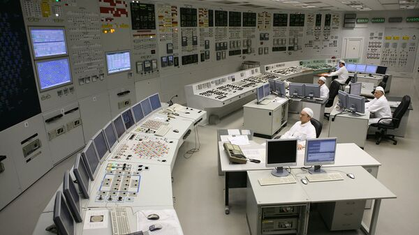 Работа Ленинградской АЭС