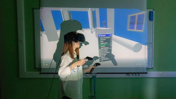 VR-проект, используемый в обучении в НИЯУ МИФИ