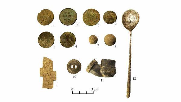 Археологические находки в усадьбе Измалково