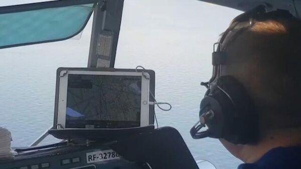 Спасатели продолжают поиски членов экипажа танкера Генерал Ази Асланов. Кадры МЧС