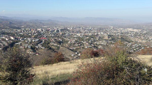 Вид на Степанакерт