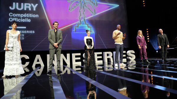 Члены жюри на открытии Каннского кинофестиваля