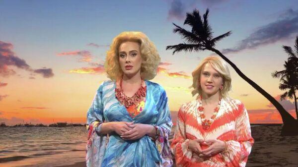 Скетч Saturday Night Live, посвященный турам в Африку