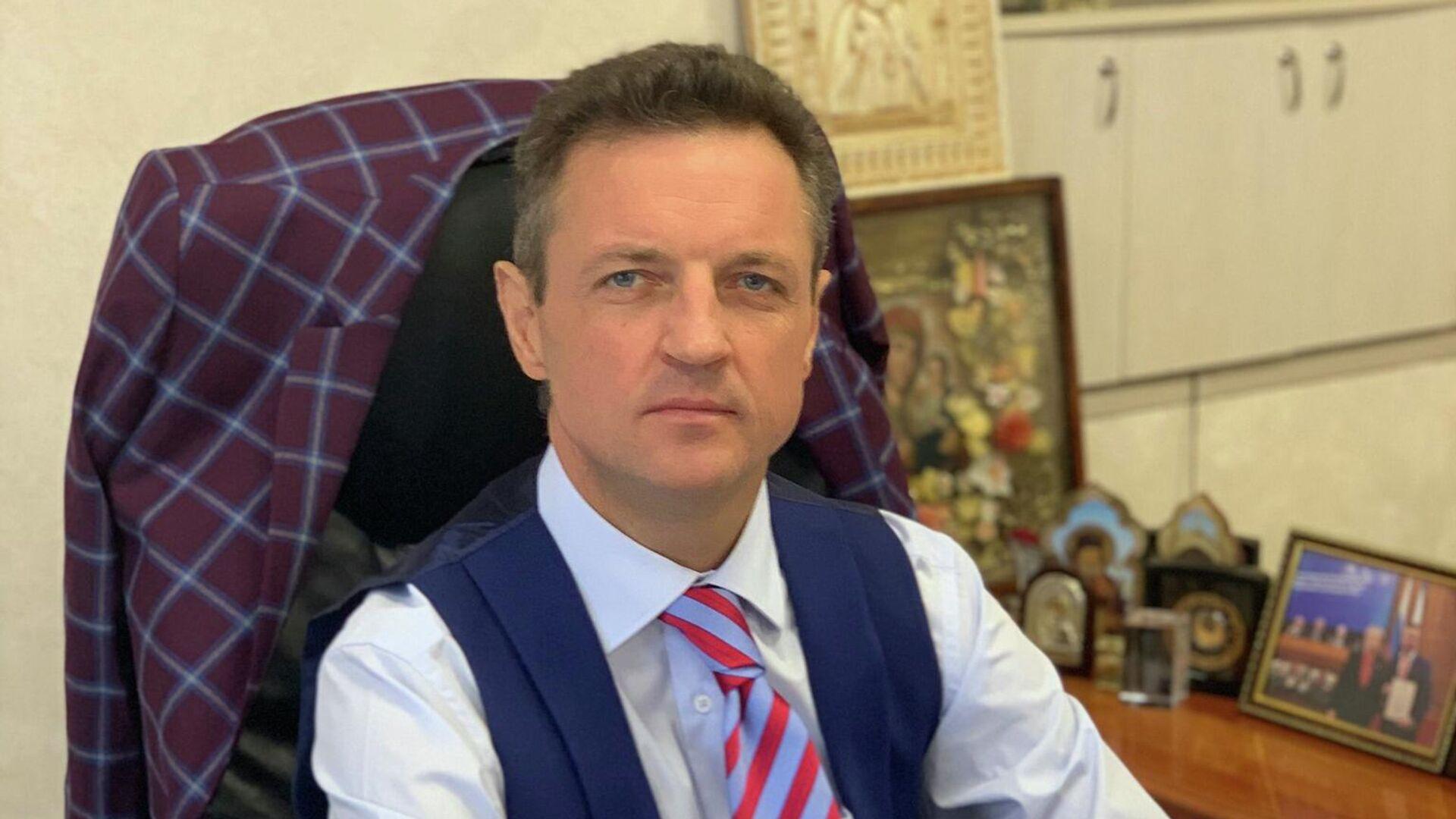 Министр здравоохранения Крыма Александр Остапенко - РИА Новости, 1920, 29.09.2021