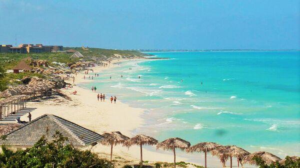 Остров Кайо-Санта-Мария на Кубе