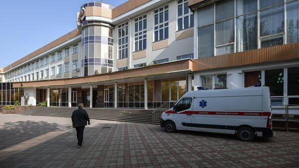 Здание Крымского федерального университета имени В. И. Вернадского в Симферополе