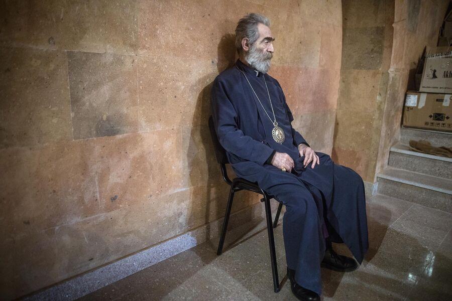 Предводитель Арцахской епархии Армянской Апостольской Церкви архиепископ Паргев Мартиросян