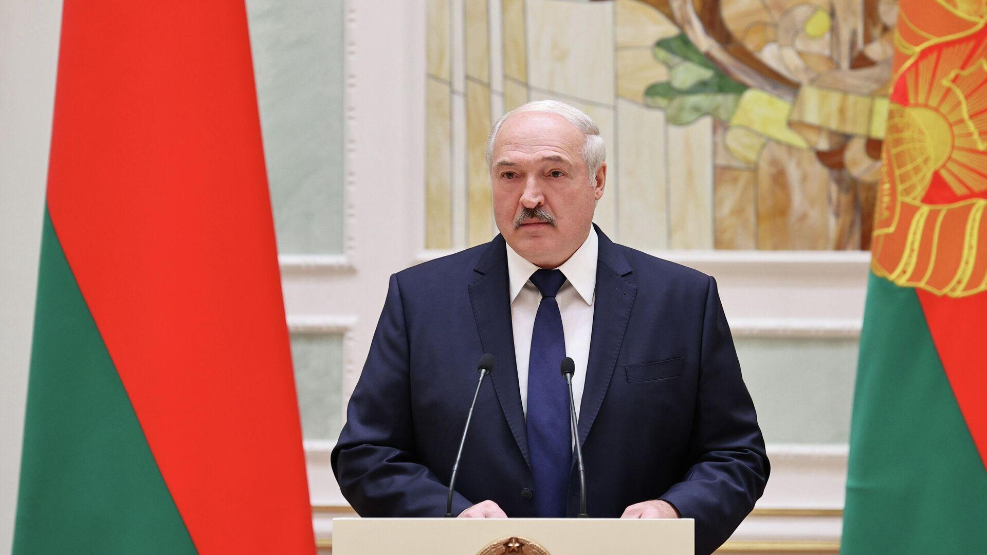 Президент Белоруссии Александр Лукашенко - РИА Новости, 1920, 27.11.2020