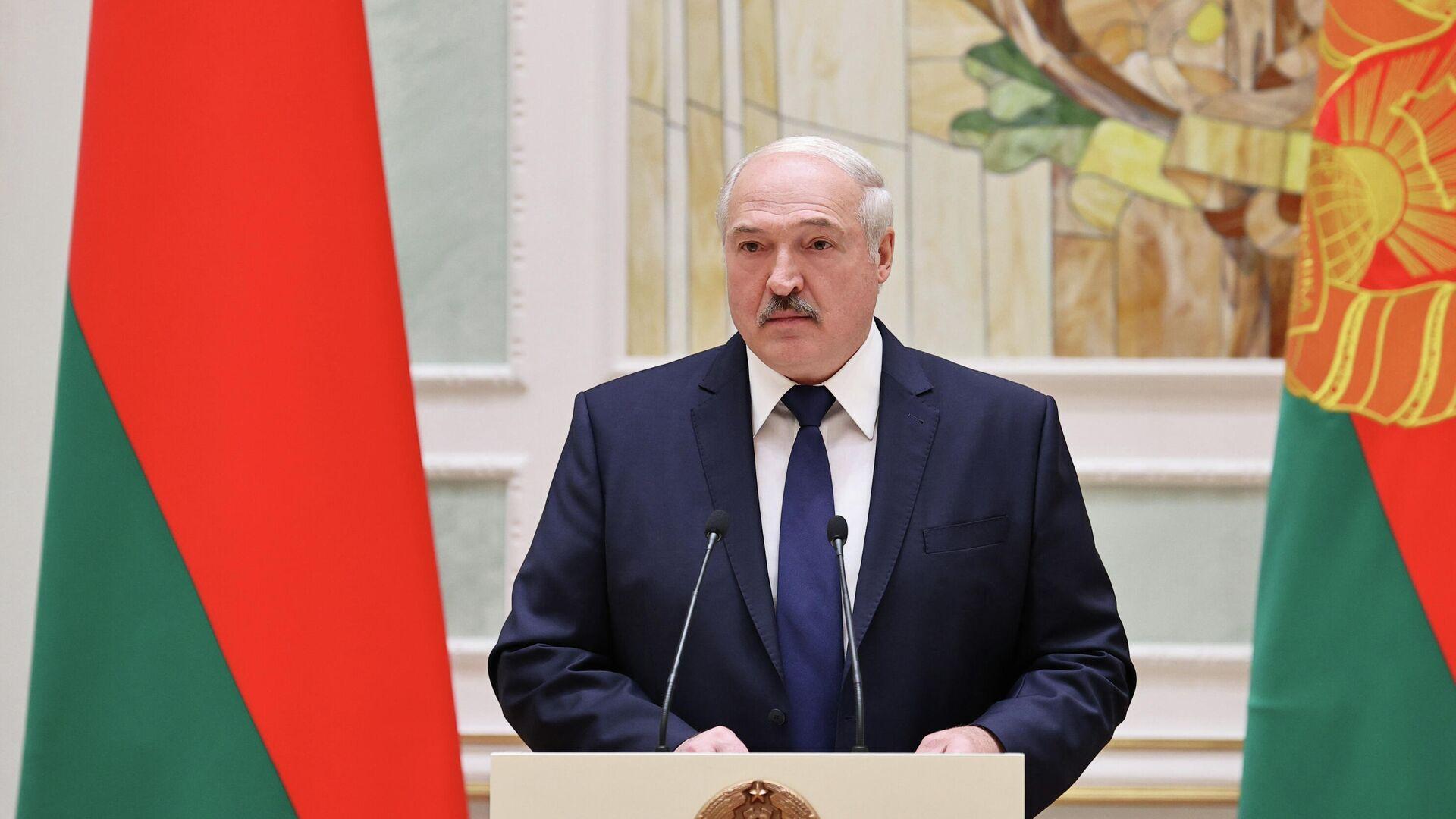 Президент Белоруссии Александр Лукашенко - РИА Новости, 1920, 28.12.2020
