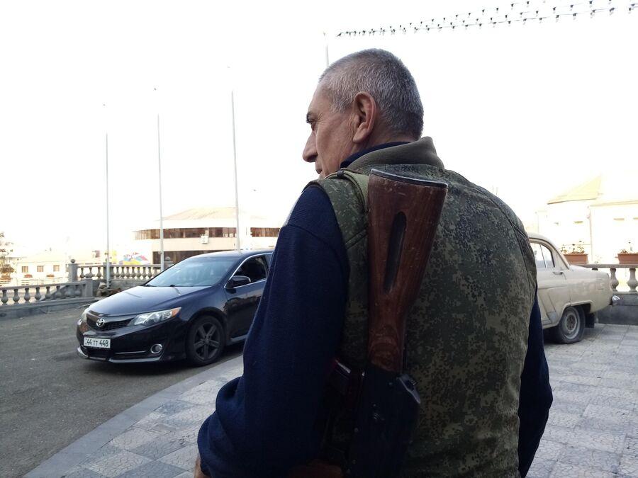 Ситуация в городе Шуша непризнанной Нагорно-Карабахской республики