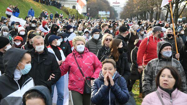 Акция протеста в Минске.