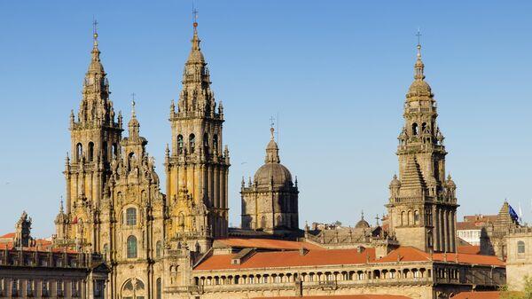 Собор Сантьяго-де-Компостела в Галисии, Испания