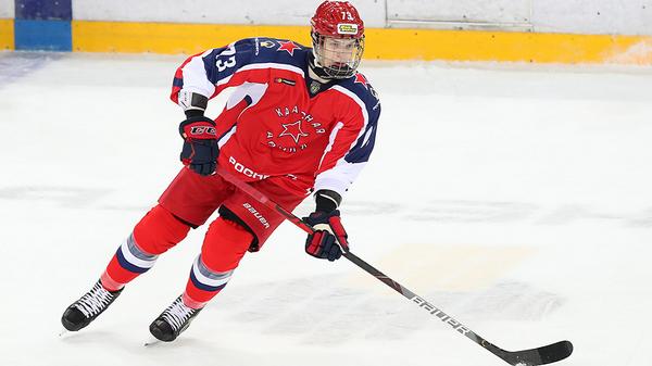 Хоккеист ЦСКА Даниил Чайка