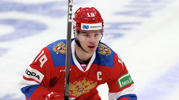 Форвард сборной России по хоккею Василий Подколзин