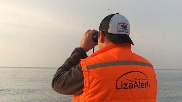 Участник поискового отряда Лиза-Алерт во время поисков Игоря Коропова в Сочи