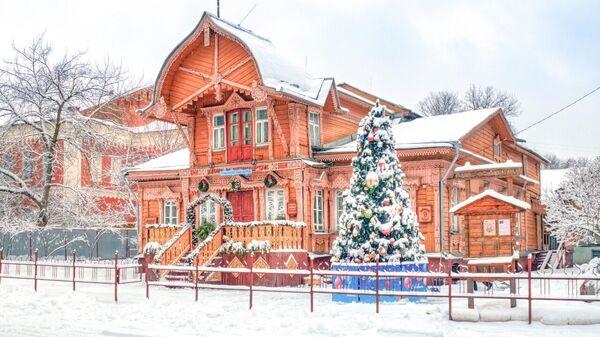 Новогоднее украшение Калуги