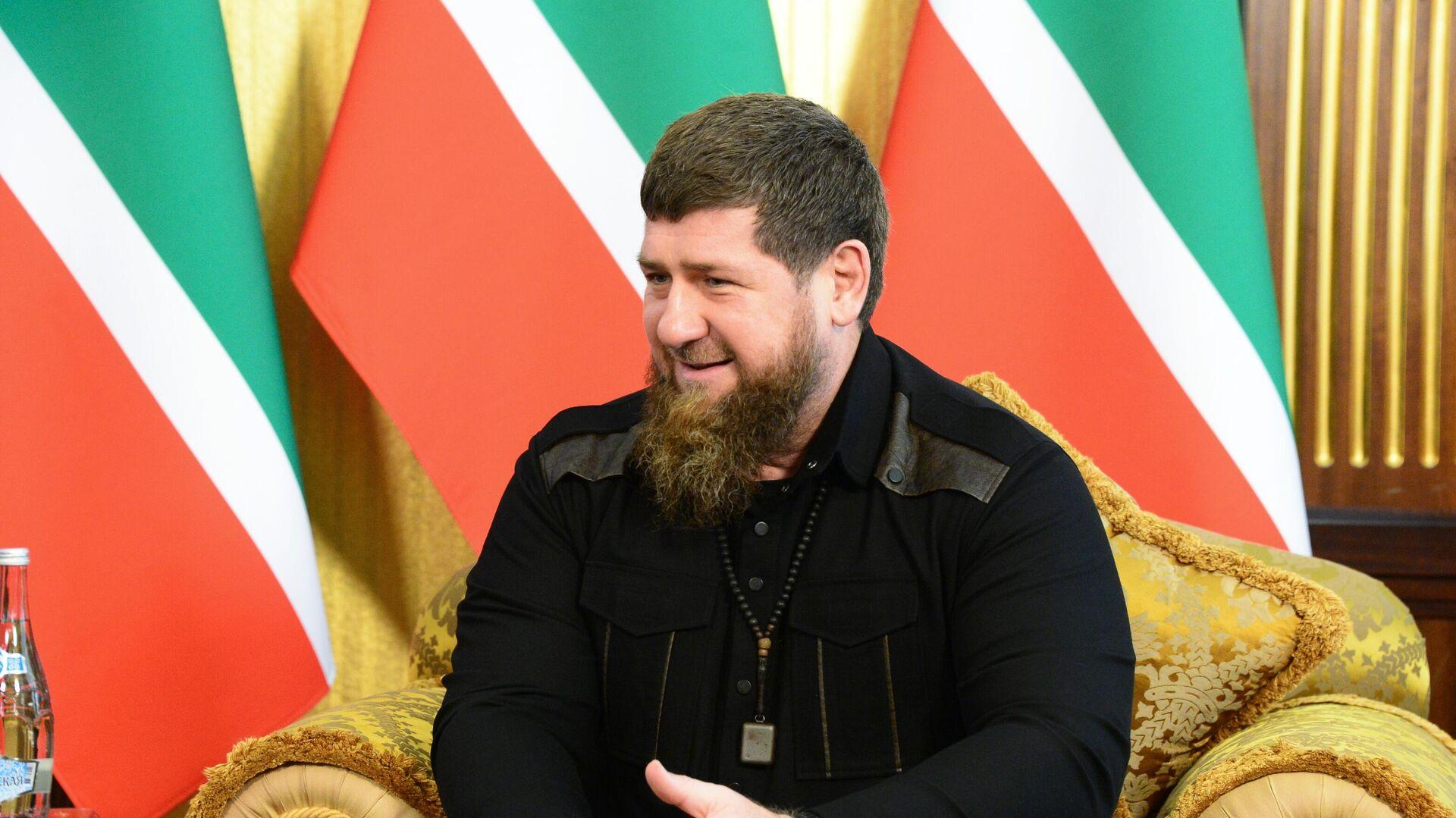 Глава Чеченской Республики Рамзан Кадыров - РИА Новости, 1920, 08.01.2021