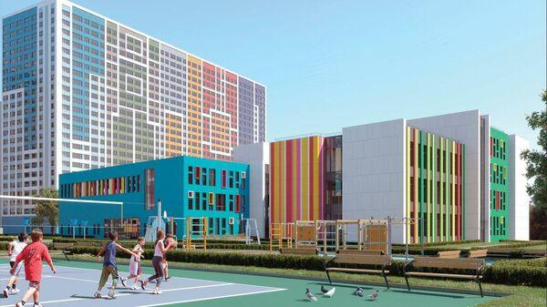 Проект школы ЖК Эталон-Сити на юге Москвы