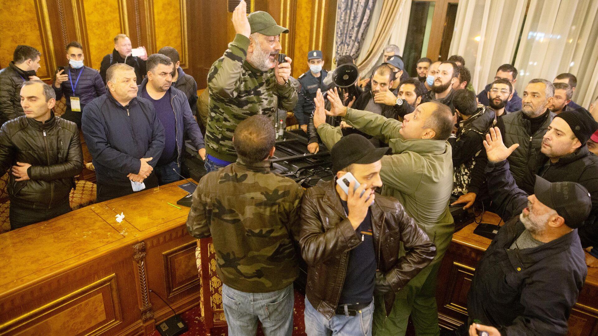 Ситуация в Ереване - РИА Новости, 1920, 10.11.2020