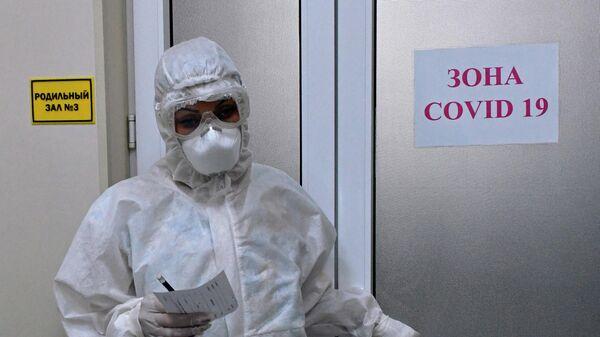 Отделение для беременных с коронавирусом в роддоме Краснодара