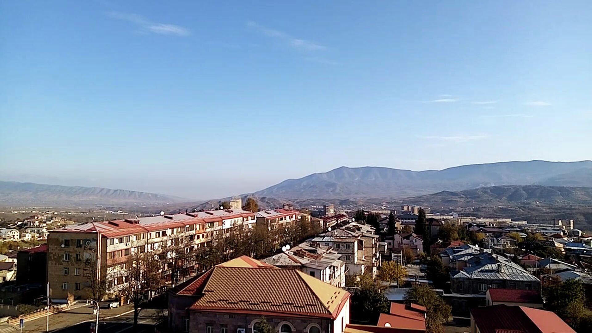 Город Степанакерт утром 10 ноября 2020 года - РИА Новости, 1920, 12.11.2020
