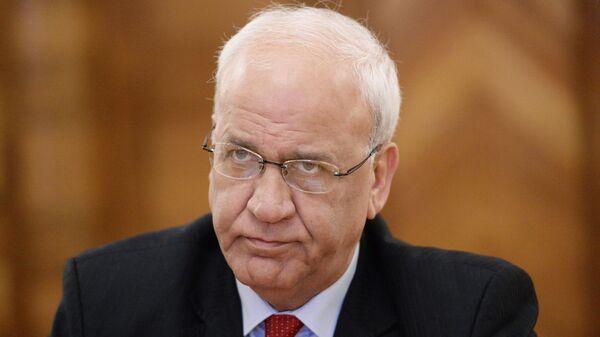 Член Исполкома Организации освобождения Палестины Саиб Орейкат
