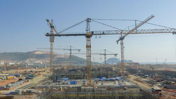 Строительство АЭС Аккую по российскому проекту на юге Турции