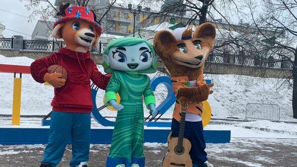 Талисманы летней Универсиады 2023 года в Екатеринбурге