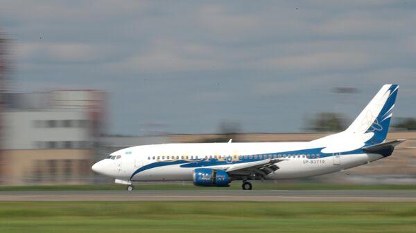 Самолет авиакомпании SCAT. Архивное фото