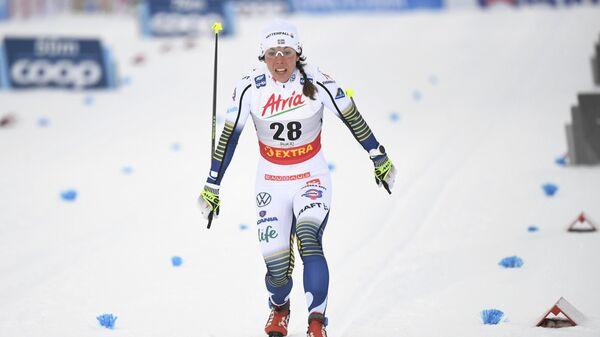 Лыжница Шарлотта Калла (Швеция)