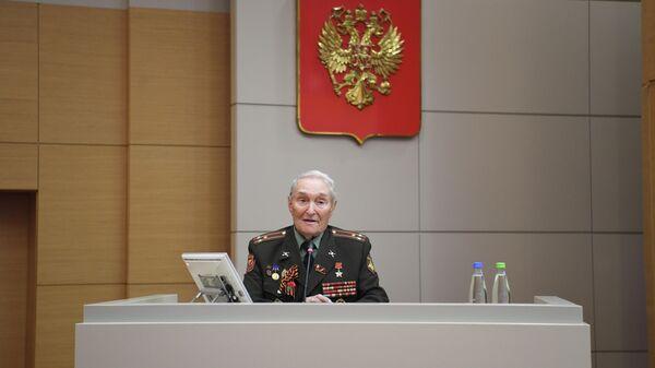Герой Советского Союза, участник исторического Парада Победы 1945 года в Москве Борис Кузнецов