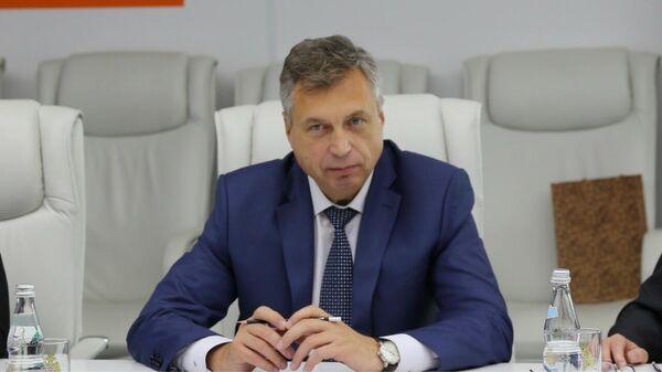 Владимир Соловьев - директор  Департамента международной деятельности МЧС России