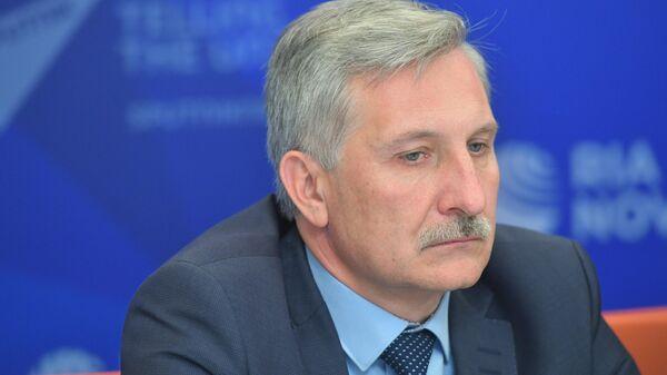 Председатель комитета общего и профессионального образования правительства Ленинградской области Сергей Тарасов