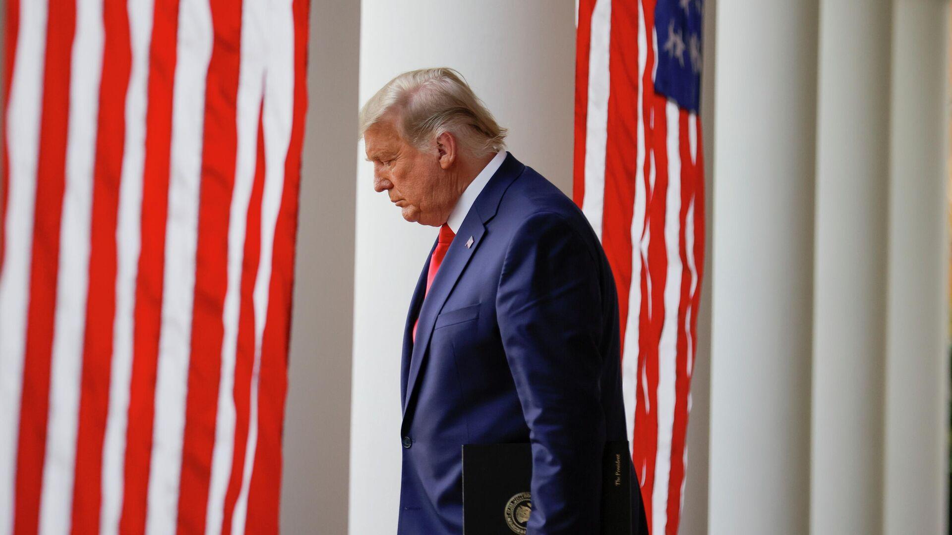 Президент США Дональд Трамп в Белом доме - РИА Новости, 1920, 20.11.2020