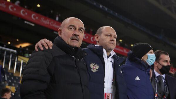 Тренерский штаб сборной России по футболу