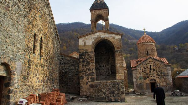 Монастырский комплекс Дадиванк в Нагорном Карабахе