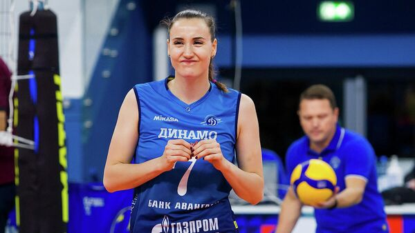 Волейболистка Татьяна Романова.