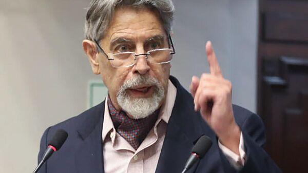 Конгрессист Франсиско Сагасти выбран главой конгресса Перу