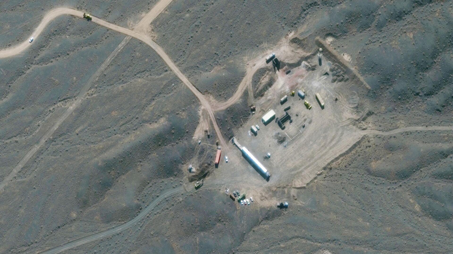 Спутниковый снимок ядерного объекта Ирана в Натанзе - РИА Новости, 1920, 28.11.2020