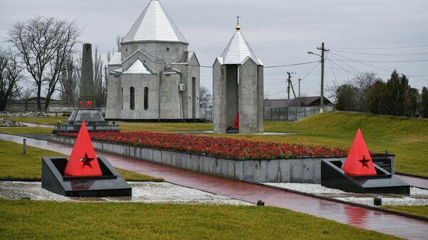 Мемориал жертвам фашистской оккупации Крыма 1941-1944 гг. Концлагерь Красный в селе Мирное