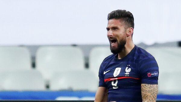 Нападающий сборной Франции Оливье Жиру
