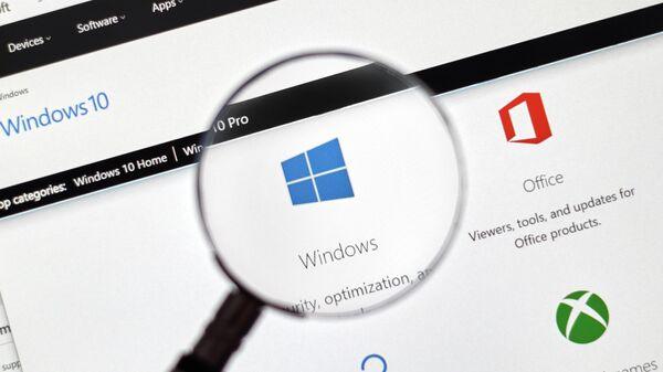 Операционная система компании Microsoft Windows 10