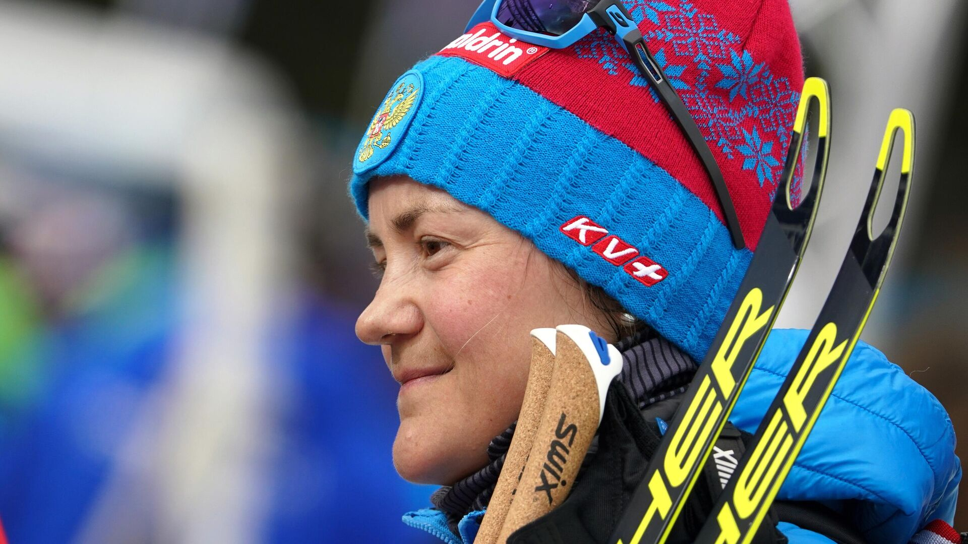 Биатлонистка Екатерина Юрлова-Перхт (Россия)  - РИА Новости, 1920, 22.09.2021