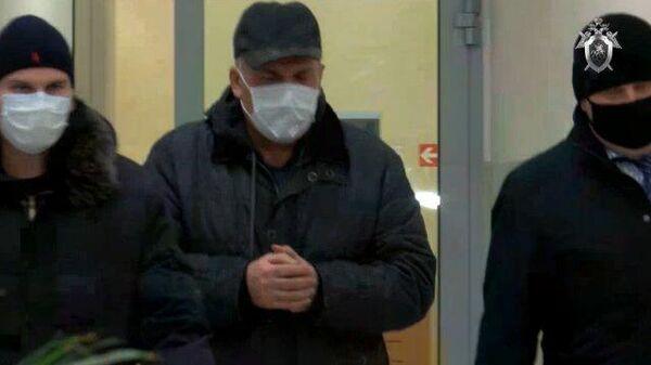 Задержание бывшего губернатора Ивановской области Михаила Меня. Кадры СК РФ