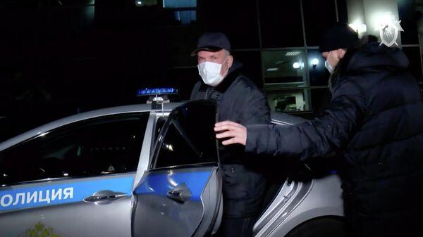 Кадры задержания Михаила Меня