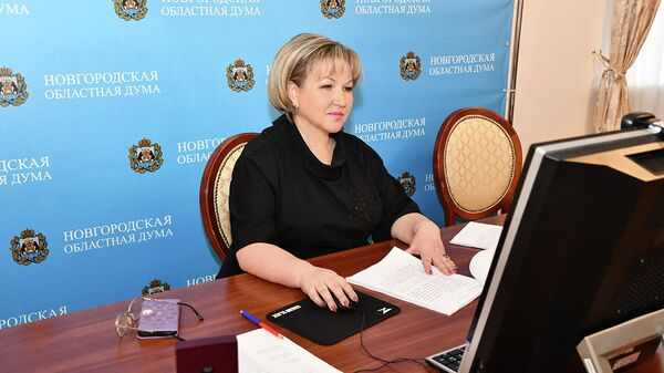 Елена Писарева переизбрана главой Парламентской Ассоциации Северо-Запада