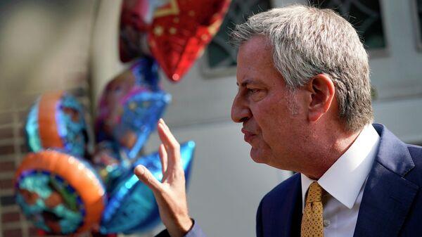 Мэр Нью-Йорка Билл де Блазио