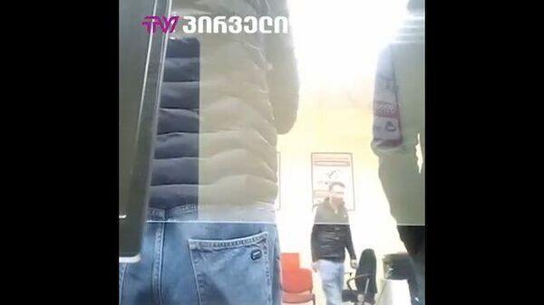 Снятое заложником в Тбилиси видео попало в СМИ